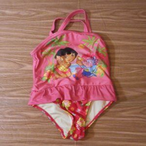 Dora the Explorer one piece swim suit